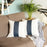 Vegan Faux Leather Square Throw Pillow Cover  (Set of 2)