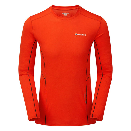 Montane Mens Primino 140 T Shirt Tee Top Blue Sports Running Outdoors Breathable