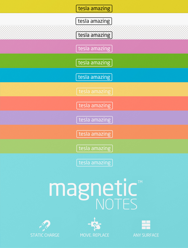Magnetic Notes Combo Packs