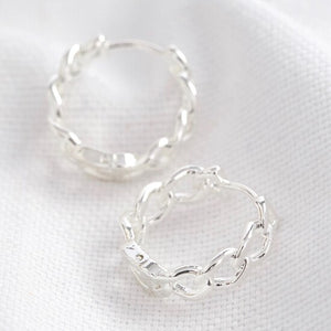 chain-huggie-hoop-earrings-in-silver-o21