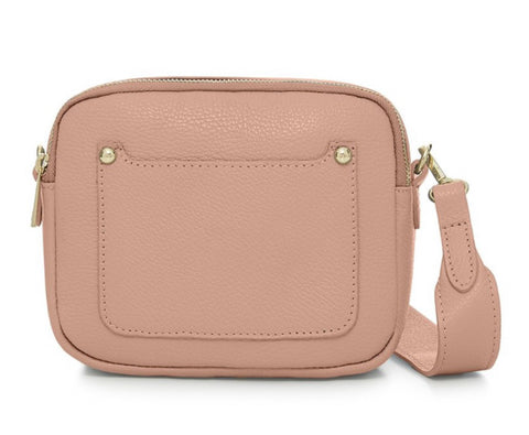 Zara Leather Cross body Bag - Smoke Rose