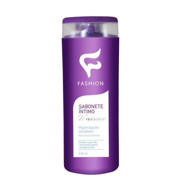 Sabonete Líquido Unissex Fashion Íntimo - 200ML
