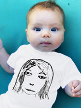 Load image into Gallery viewer, Kim Gordon Kid's Onesie or T-shirt