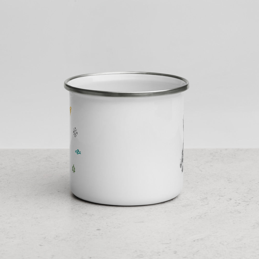 Magic System Enamel Mug