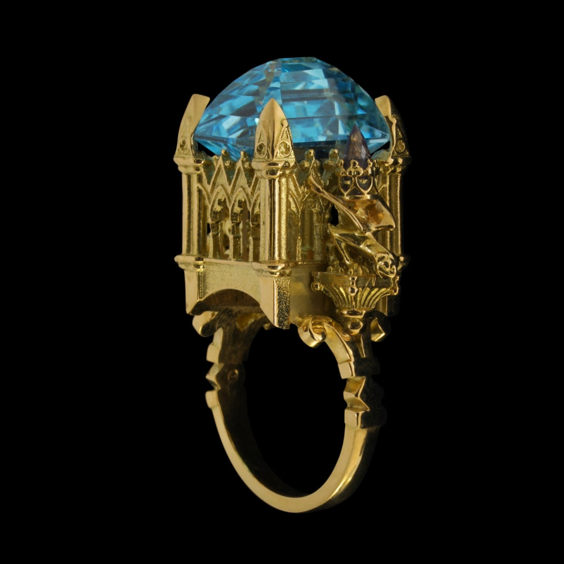 LA GARGOUILLE CATHEDRAL RING