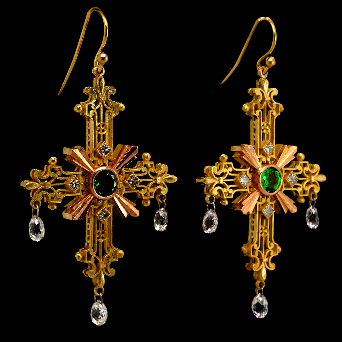 CRUX GEMMATA EARRINGS