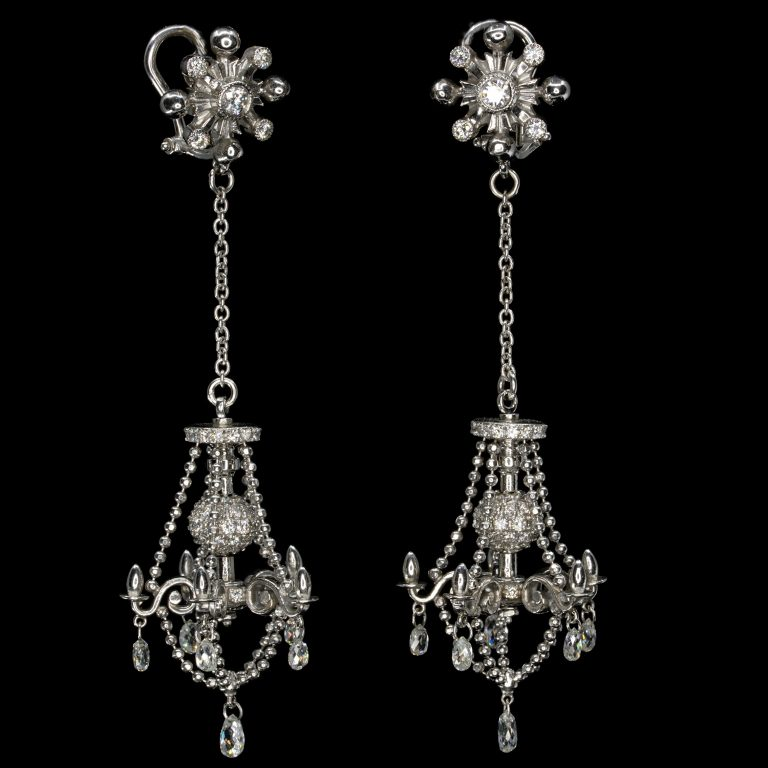 LAVISH CHANDELIER EARRINGS