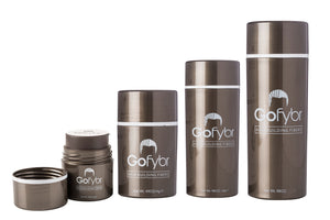 Gofybr Hair Thickening Fibres Instant Results  - Free Shipping