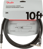 FENDER CABLE PRO 10' ANG INST CBL BLK - PickersAlley