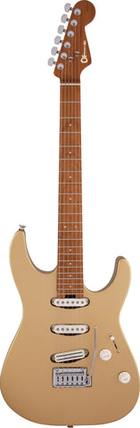 CHARVEL GUITAR Dinky22 CM - Pharoah's Gold - PickersAlley