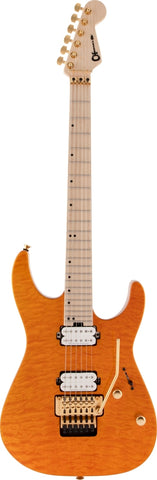 CHARVEL GUITAR Dinky24 HH FR - Dark Amber - PickersAlley