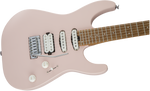 CHARVEL GUITAR PM DK24 HSS 2PT MPL - Satin Shell Pink - PickersAlley