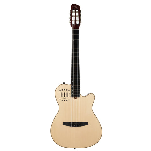 GODIN GUITAR Multiac Nylon Duet Ambiance HG Natural *FACTORY SECOND* - PickersAlley