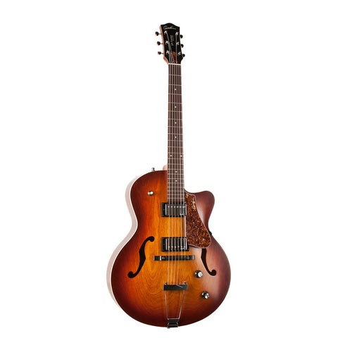 GODIN GUITAR 5th Avenue Kingpin II CW HB Cognac Burst - PickersAlley