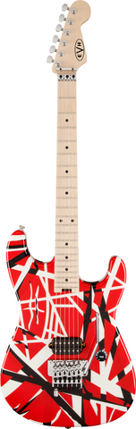 EVH GUITAR STRIPE SERIES R/B/W - PickersAlley