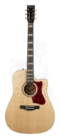 NORMAN GUITAR ST40CW NAT HG A/E  **NEW** - PickersAlley