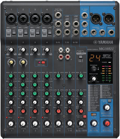 YAMAHA MIXER MG10XU - PickersAlley