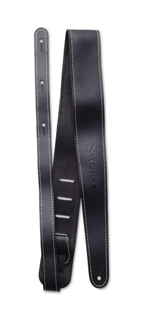 MARTIN STRAP ACC LTHR SLIM BLK - PickersAlley