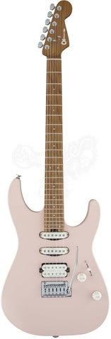 CHARVEL GUITAR Dinky24 HSS CM - Satin Shell Pink - PickersAlley