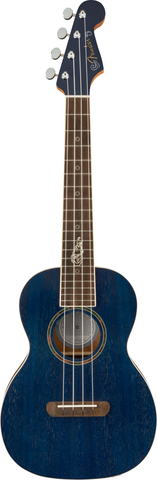 FENDER UKULELE Dhani Harrison S/Blue - PickersAlley