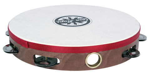 "GON BOPS TAMBOURINE 10"" Headed Single Row - PickersAlley"