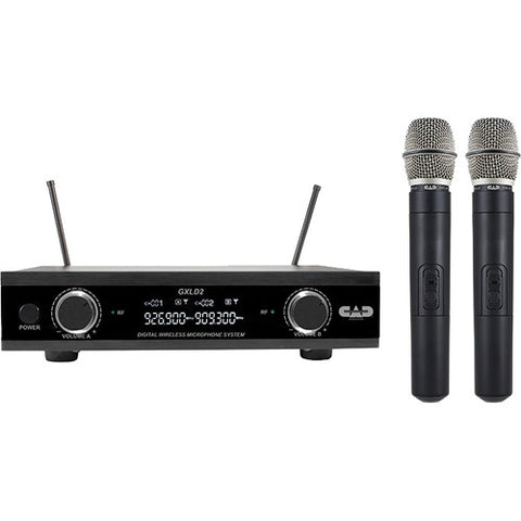 CAD WIRELESS DUAL MIC SYSTEM GXLD2HHAI - PickersAlley