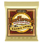 ERNIE BALL STRINGS Earthwood 80/20 2006 .010-.050 - PickersAlley