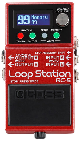 BOSS LOOP STATION RC-5 - PickersAlley