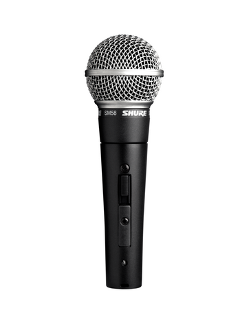 SHURE MICROPHONE SM58S with ON/OFF Switch