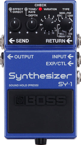 BOSS PEDAL SY-1 SYNTH - PickersAlley
