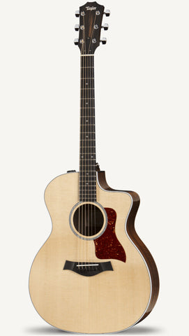 TAYLOR GUITAR 214CE-CF Natural - PickersAlley