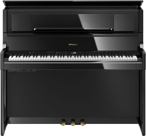ROLAND LX708 Digital Piano - Polished Ebony - PickersAlley