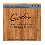 GODIN STRINGS A12 12-String Light - PickersAlley