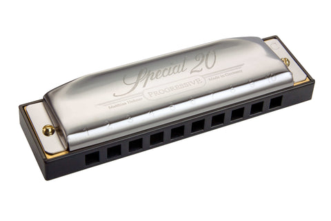Hohner Harmonica - Special 20 Harps (7 Key Options) - PickersAlley