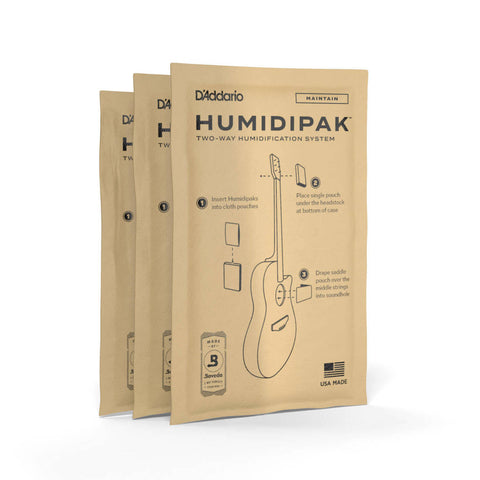PLANET WAVES HUMIDIPAK 3-PK Refill PW-HPRP-03 - PickersAlley