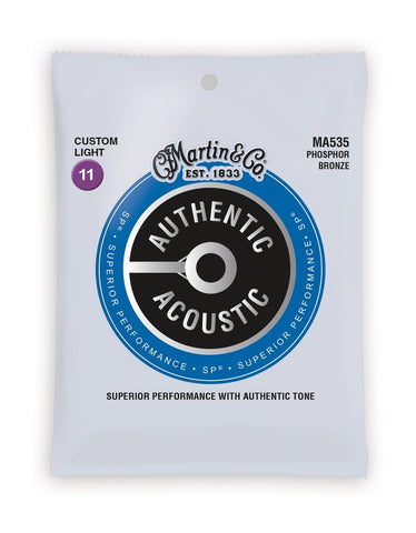 MARTIN STRINGS MA535  Custom Light Gauge - PickersAlley