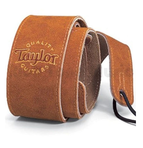 TAYLOR STRAP Suede Logo Honey - PickersAlley