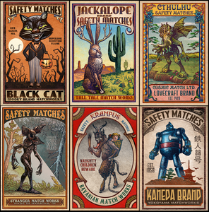 Matchbox Label Prints