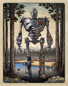 Iron Giant Cutaway- Limited Edition Print