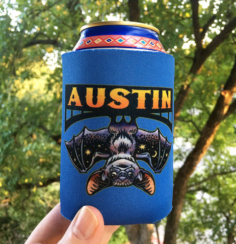 Austin Bat Can Cooler
