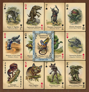 An Unnatural History- Playing Cards