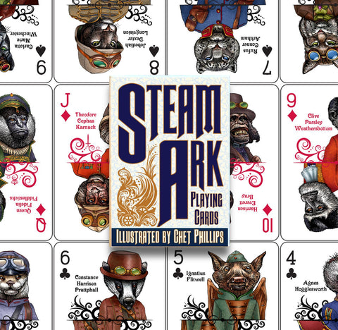 Steam Ark Playing Cards