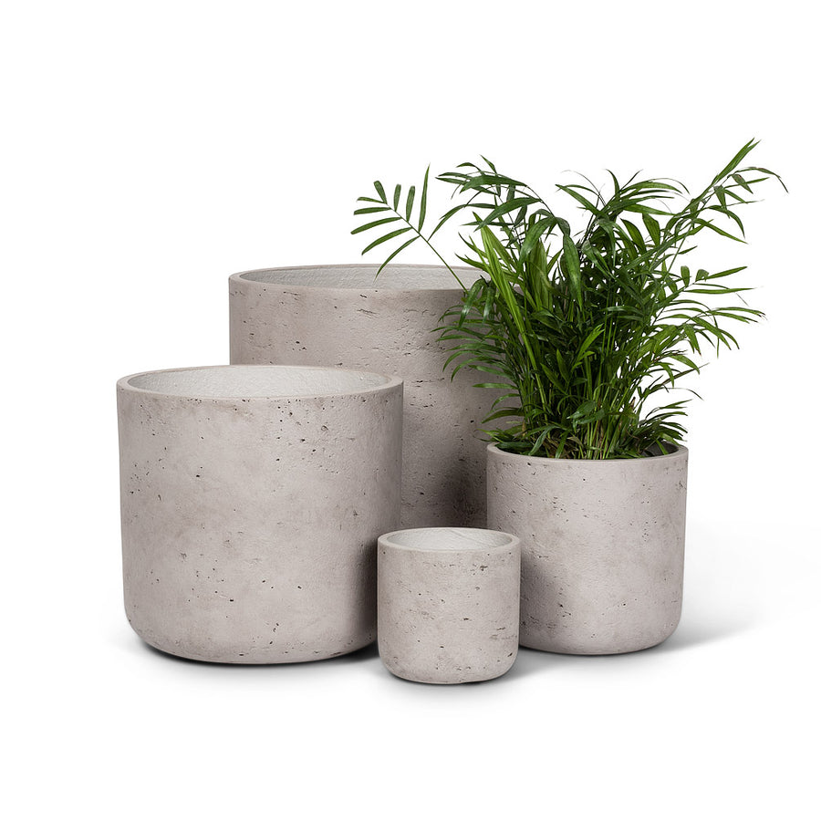 Medium Grey Hanging Concrete Plant Pot - 7