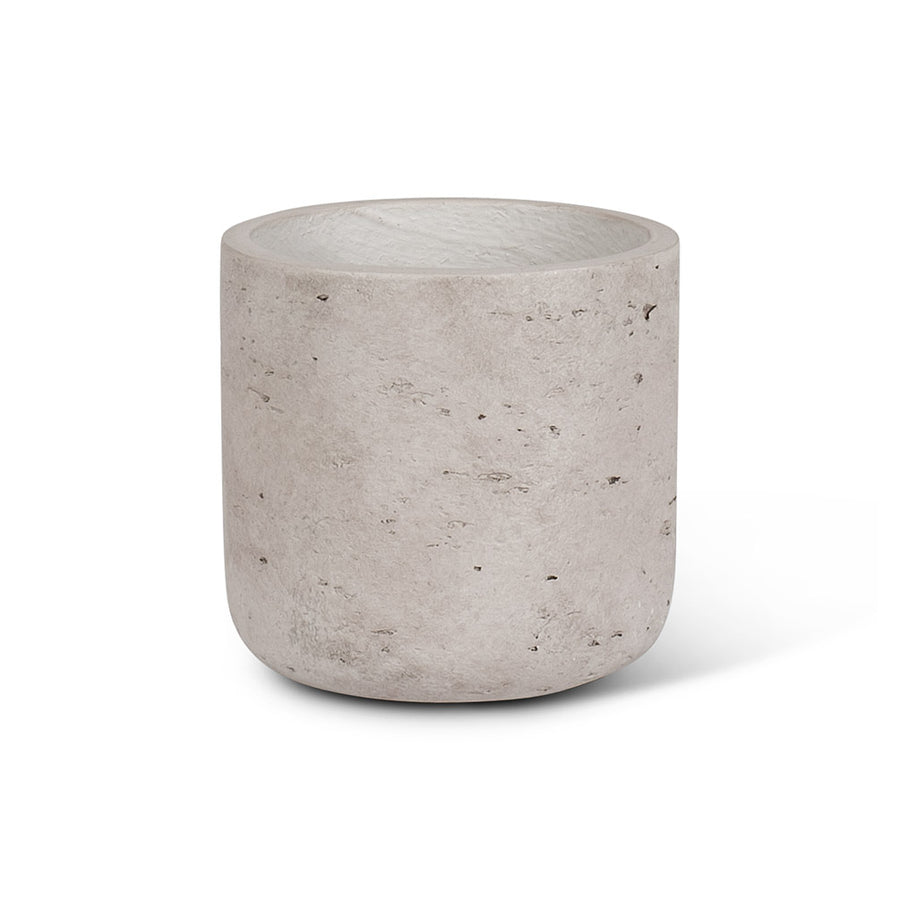 Small Grey Concrete Plant Pot - 4.5