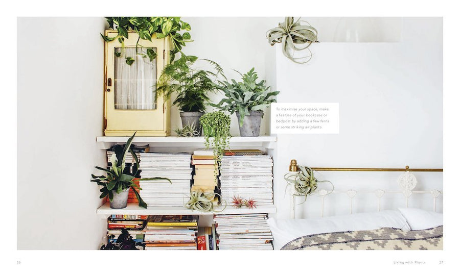 Living With Plants: A Guide to Indoor Gardening by Hardie Grant - Merchant of York Toronto