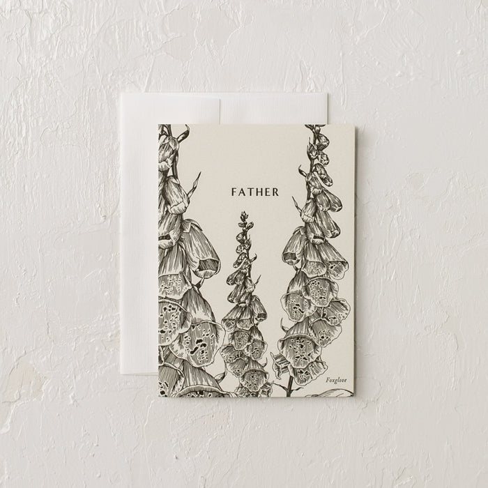 Father Letterpress Card
