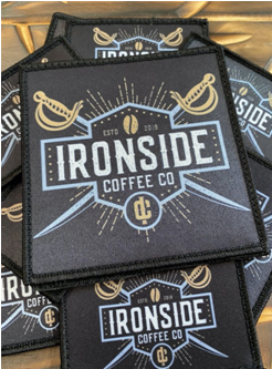 Ironside Square Velcro Patch