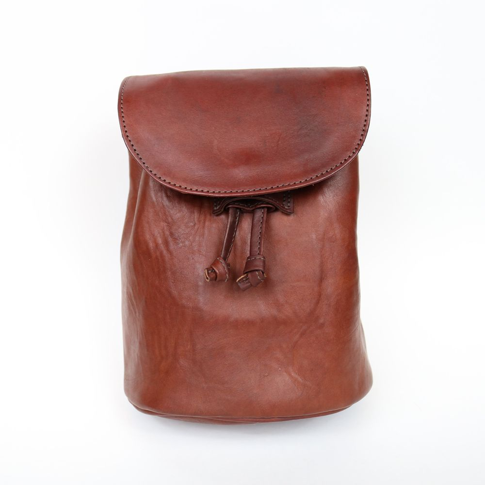 Carnival | Women's Brown Leather Backpack