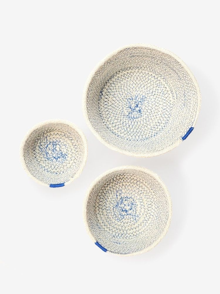 Amari Bowl - Blue (Set of 3)
