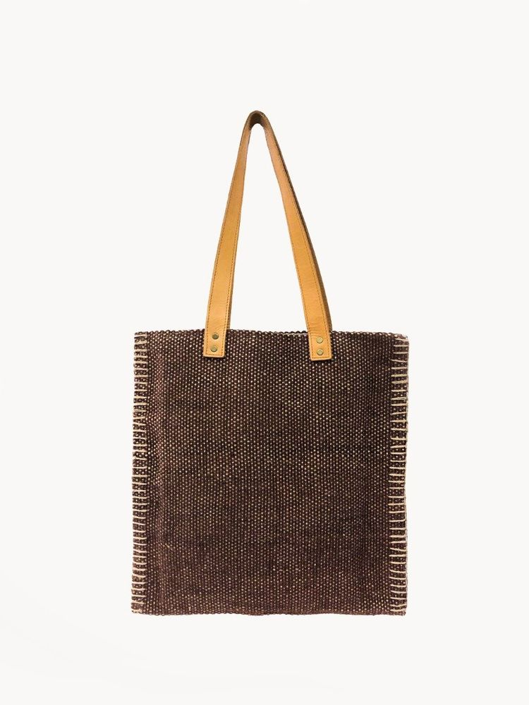 Sahara Tote Bag - Brown